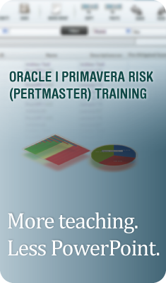 Primavera Risk (Pertmaster) Training