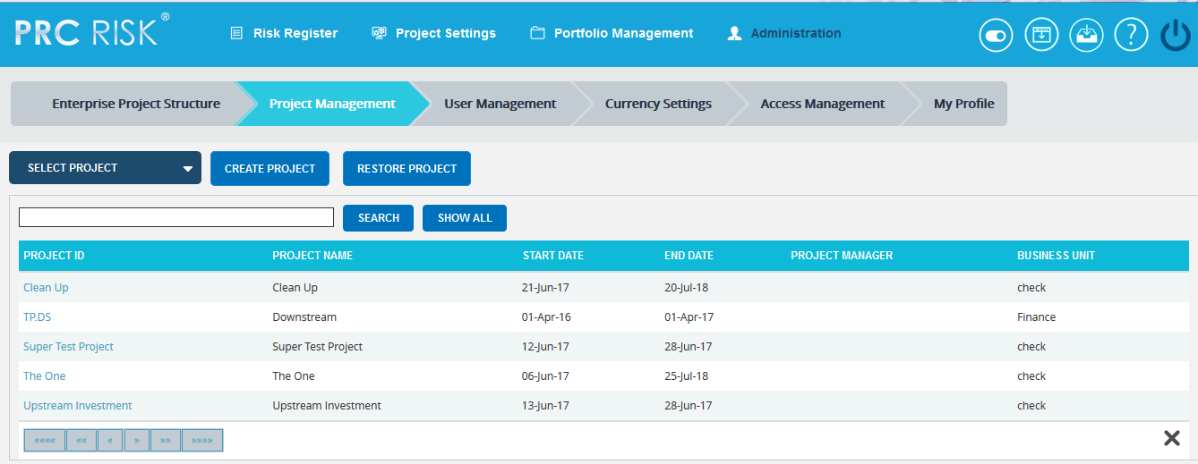 project_manage_search